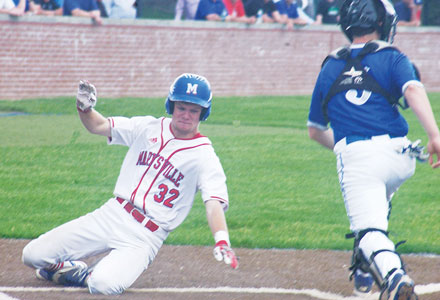 Monarchs fall to Liberty in district title game