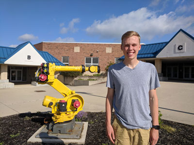 First class reflections: First graduating seniors give impressions of Marysville's newest school