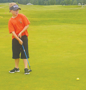 Jr. golf program has been successful this summer