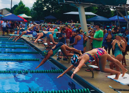 Stingrays end season at New League championship meet