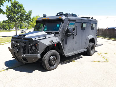 MPD to buy armored vehicle