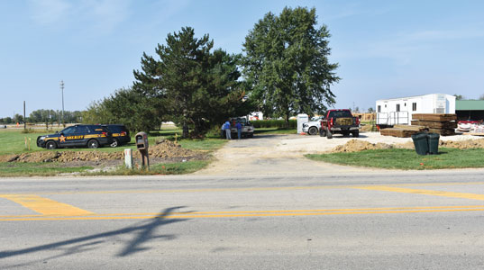 Worker killed in accident on Hyland Croy