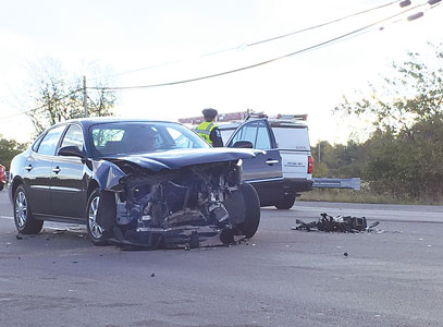 Injury crash reported on Route 4