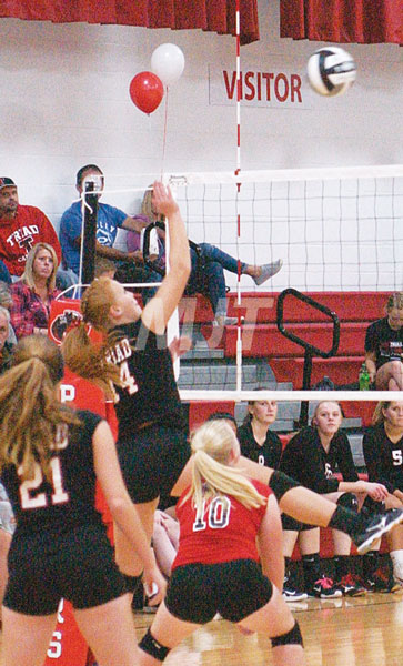 Help wanted sign posted again for Triad VB position