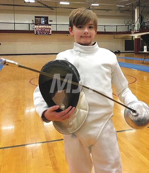 Fencer earns medal