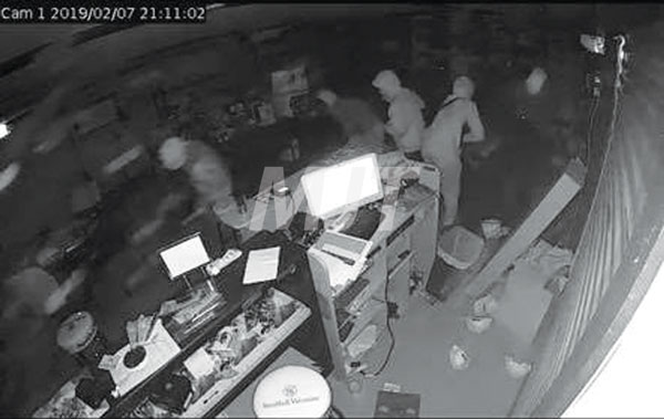Gun store plans to reopen after robbery