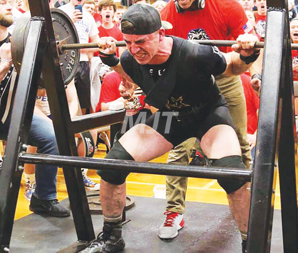 MHS powerlifters place second at state meet