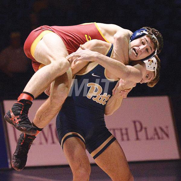 Marysville's Rahmani opens NCAA wrestling tourney with split verdicts
