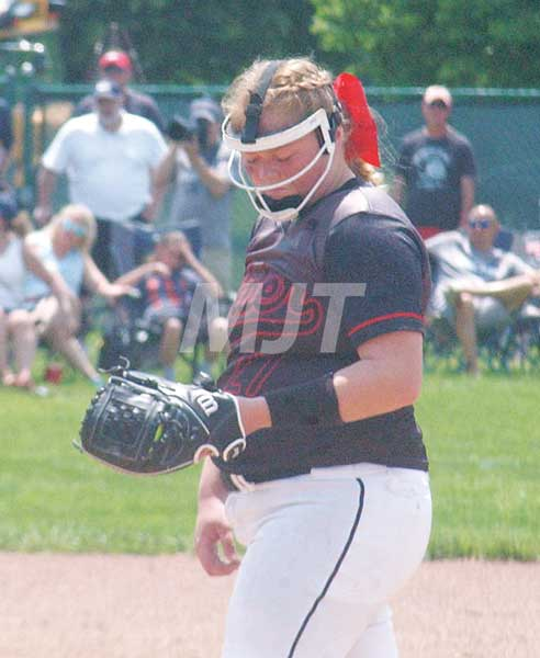 Frosh shines in No. 1 pitching role for JA girls