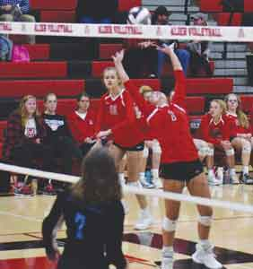 Jon Alder spikers cruise to tournament victory