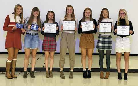 District soccer champ Lady Monarchs earn special awards for 2019