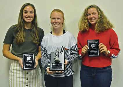 Lady Panthers honored