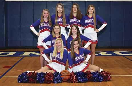 MHS Varsity and JV Cheerleaders