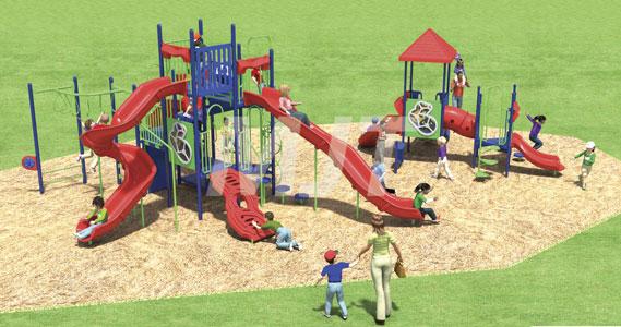 Pastime Park playground project progressing