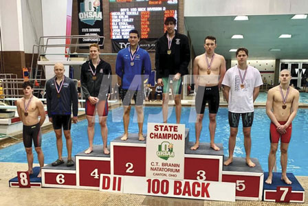 JA swimmer places at state meet