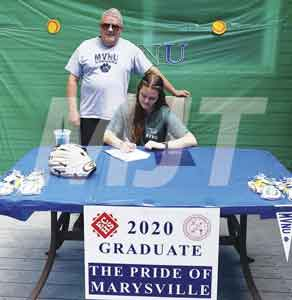 Lady Monarch third baseman finds new collegiate home at Mount Vernon Nazarene University