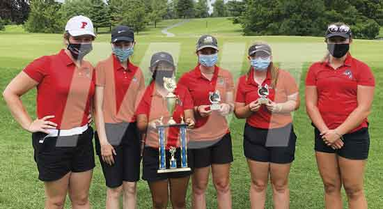 Fairbanks Lady Panther golfers place second during Colonial Club tourney