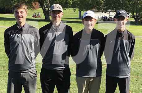 Golfers honored