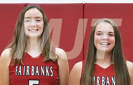 Local high school girls cagers win Monday contests